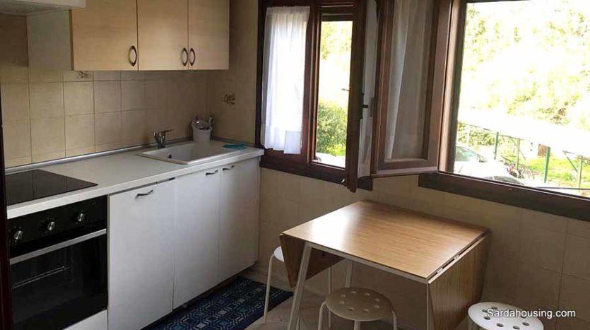 cucina appartamento mediterraneo