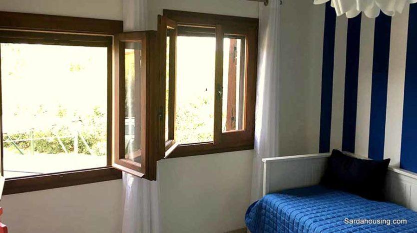 camera da letto 2 appartamento mediterraneo