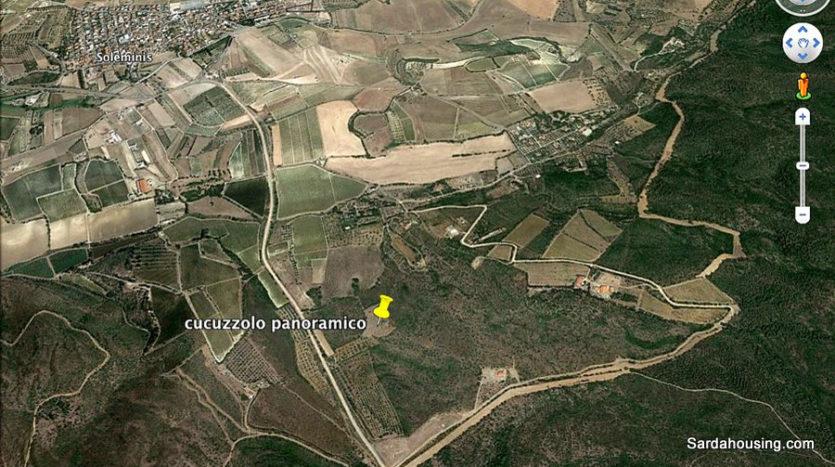 posizione terreno satellite