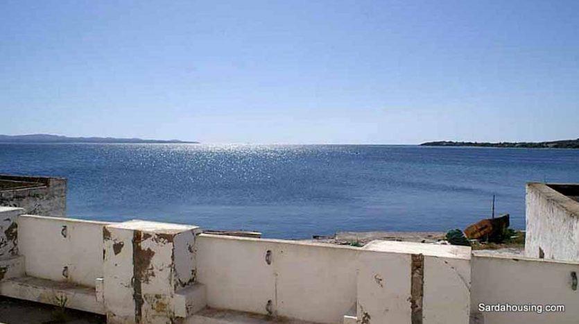 Edifici sul mare vendita Carloforte Sardegna, terrazza sul mare orizzonte