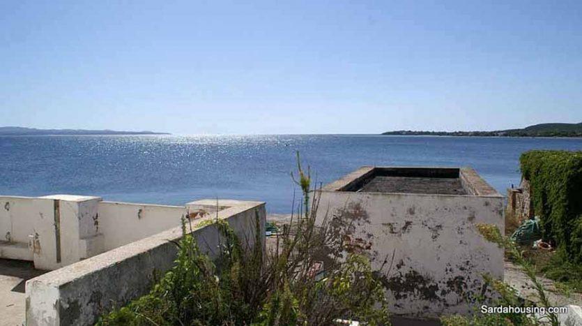 Edifici sul mare vendita Carloforte Sardegna, terrazza sul mare