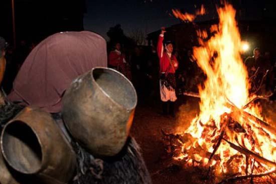 fuoco sant antonio mamoiada